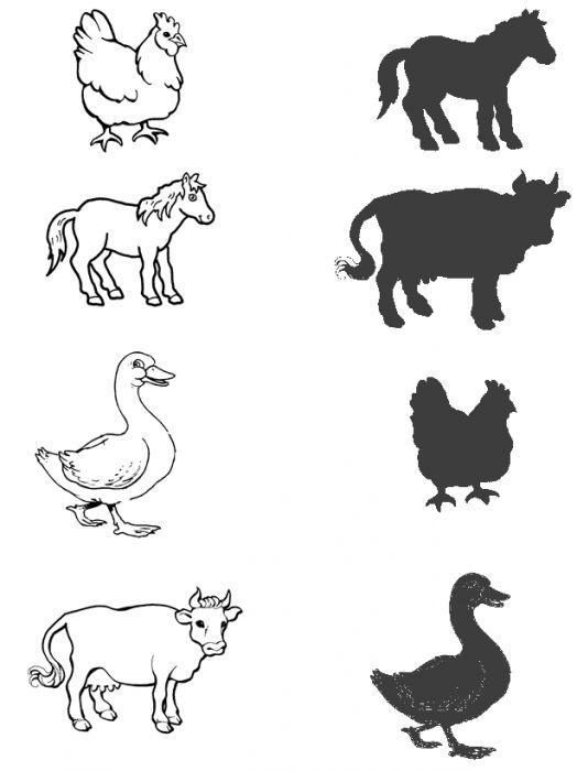 Farm Animals Letter Printables