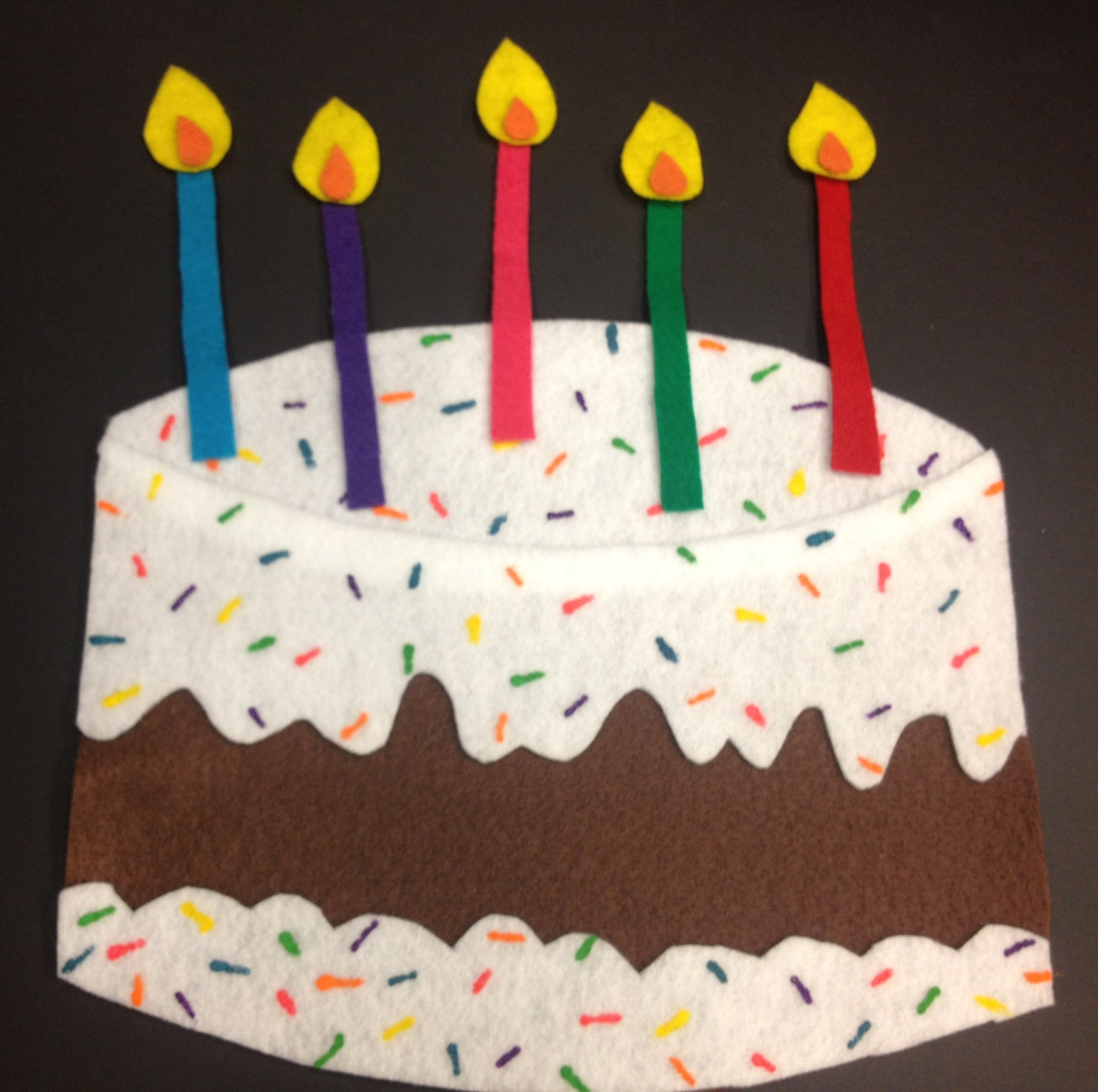 Cupcake And Birthday Cake Craft Idea For Kids