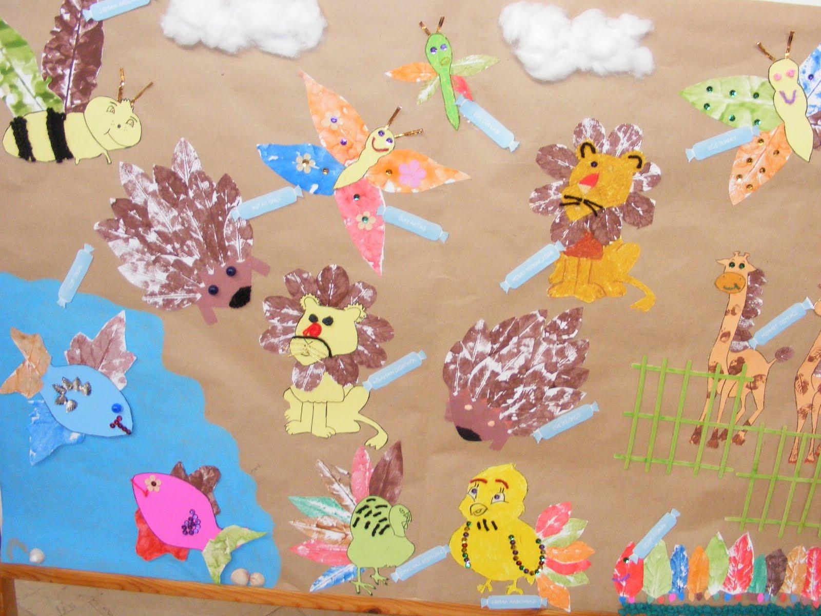 Leaf Crafts Idea For Kids