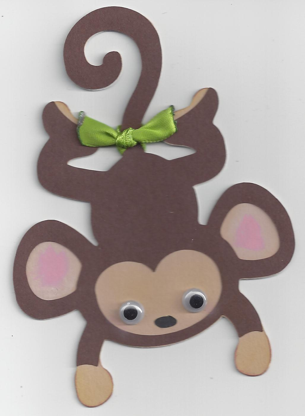 Monkey Arts And Crafts Toddlers