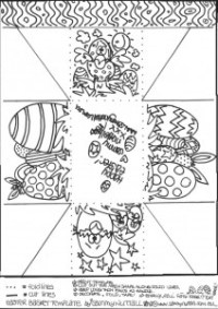 Free Printable Easter Basket Template – Merry Christmas And Happy ...