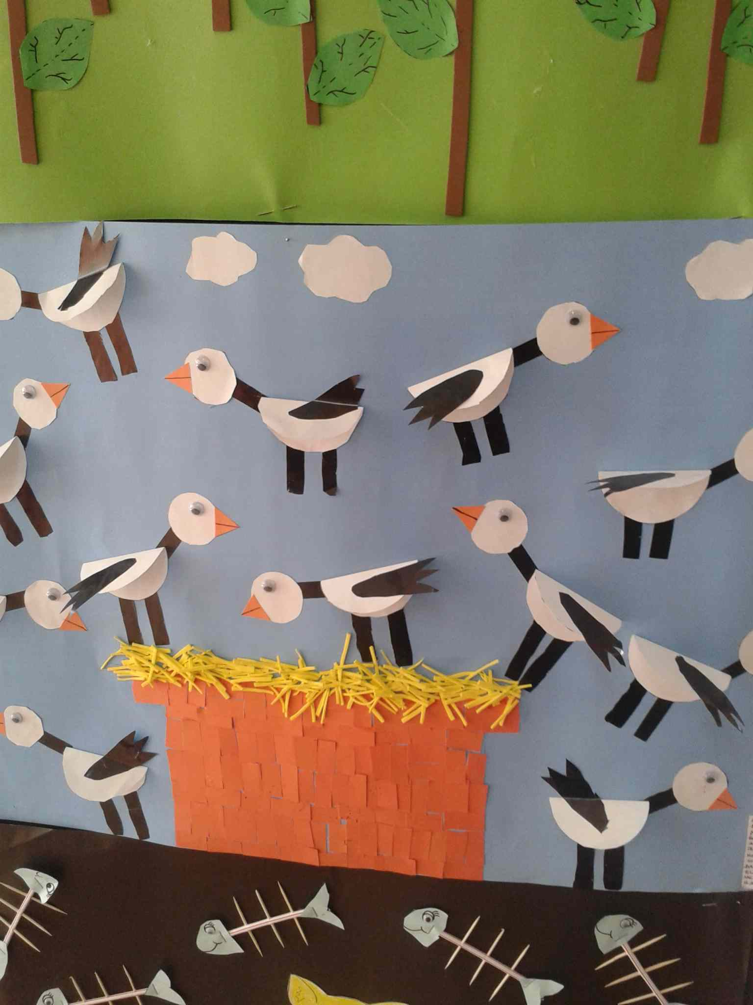 Birds Bulletin Board Idea For Kids Crafts And Worksheets