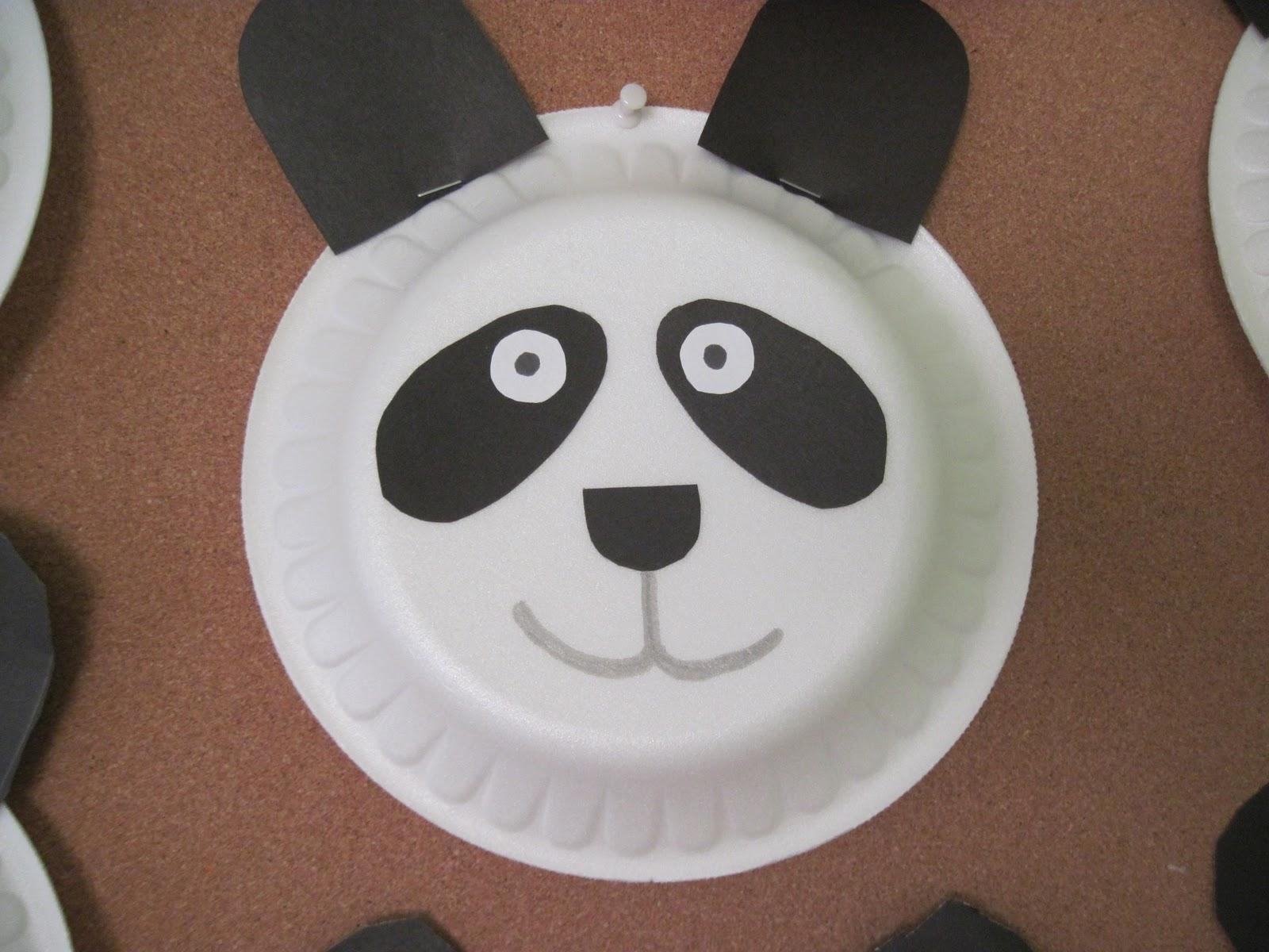 Panda Bear Worksheet For Kindergarten