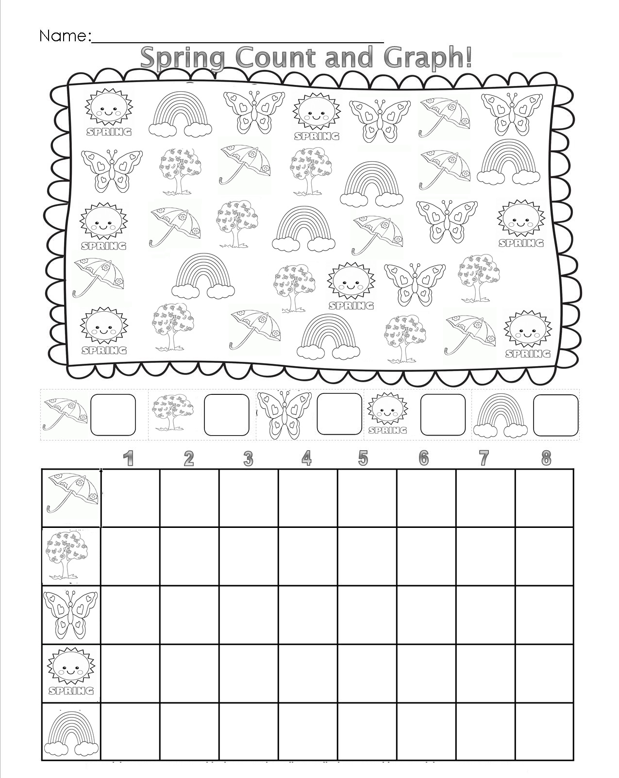 Angry Birds Math Worksheet Graph