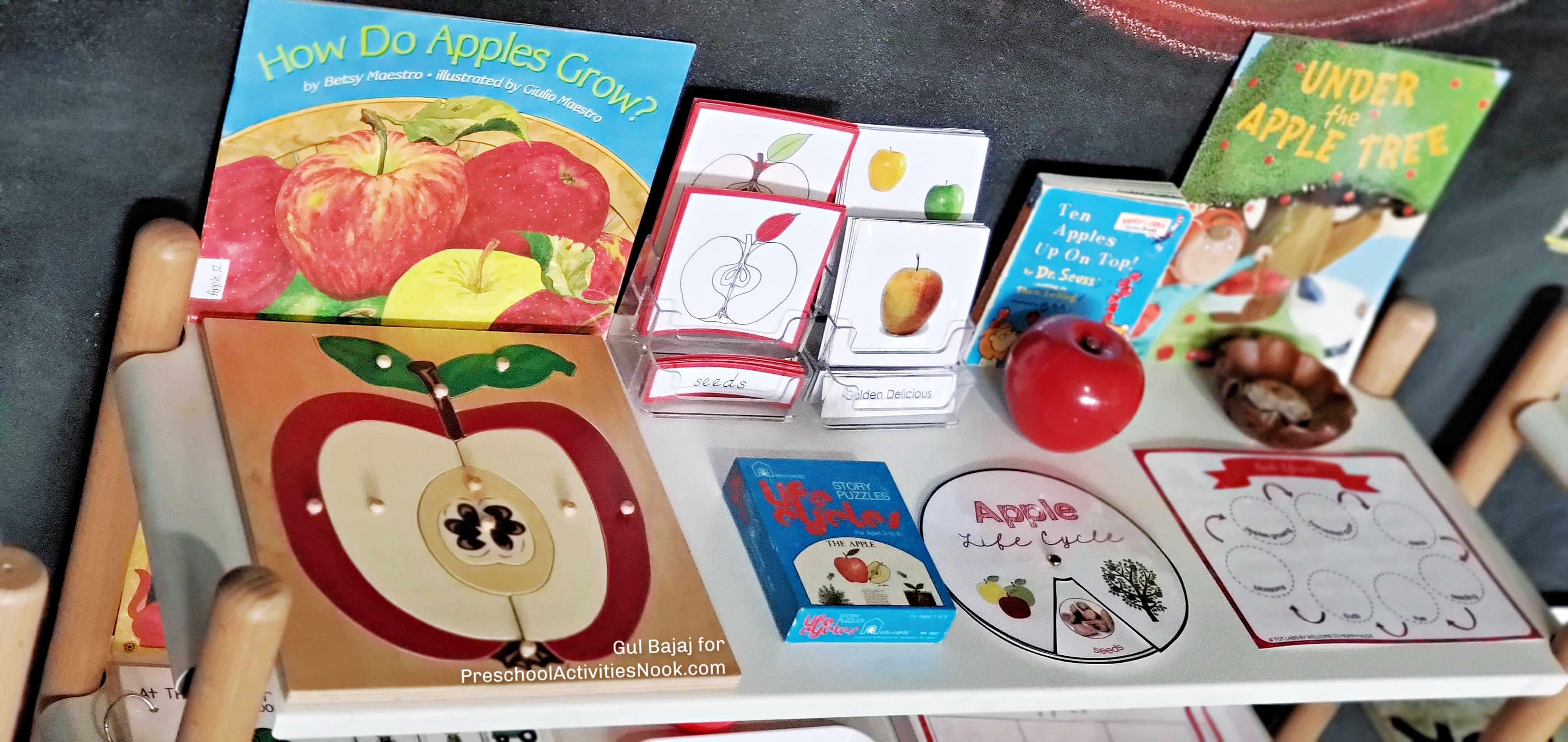 Preschool Apples Theme
