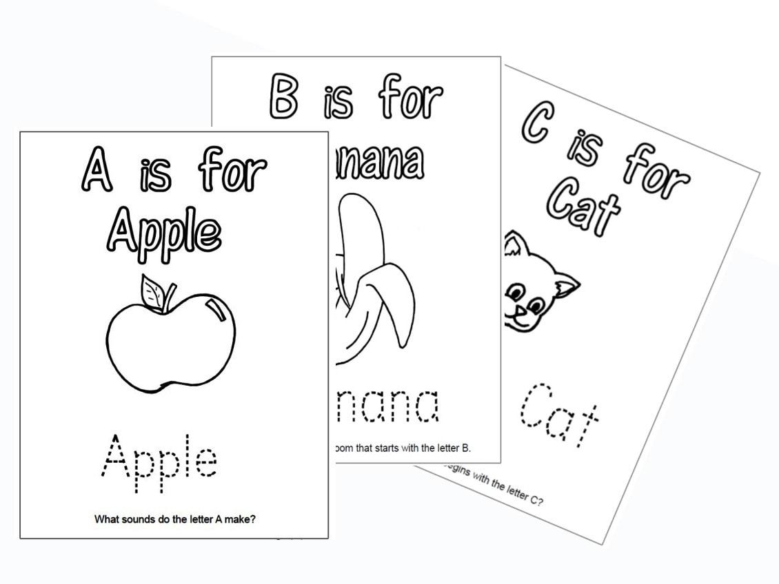 Preschool Phonics Worksheets