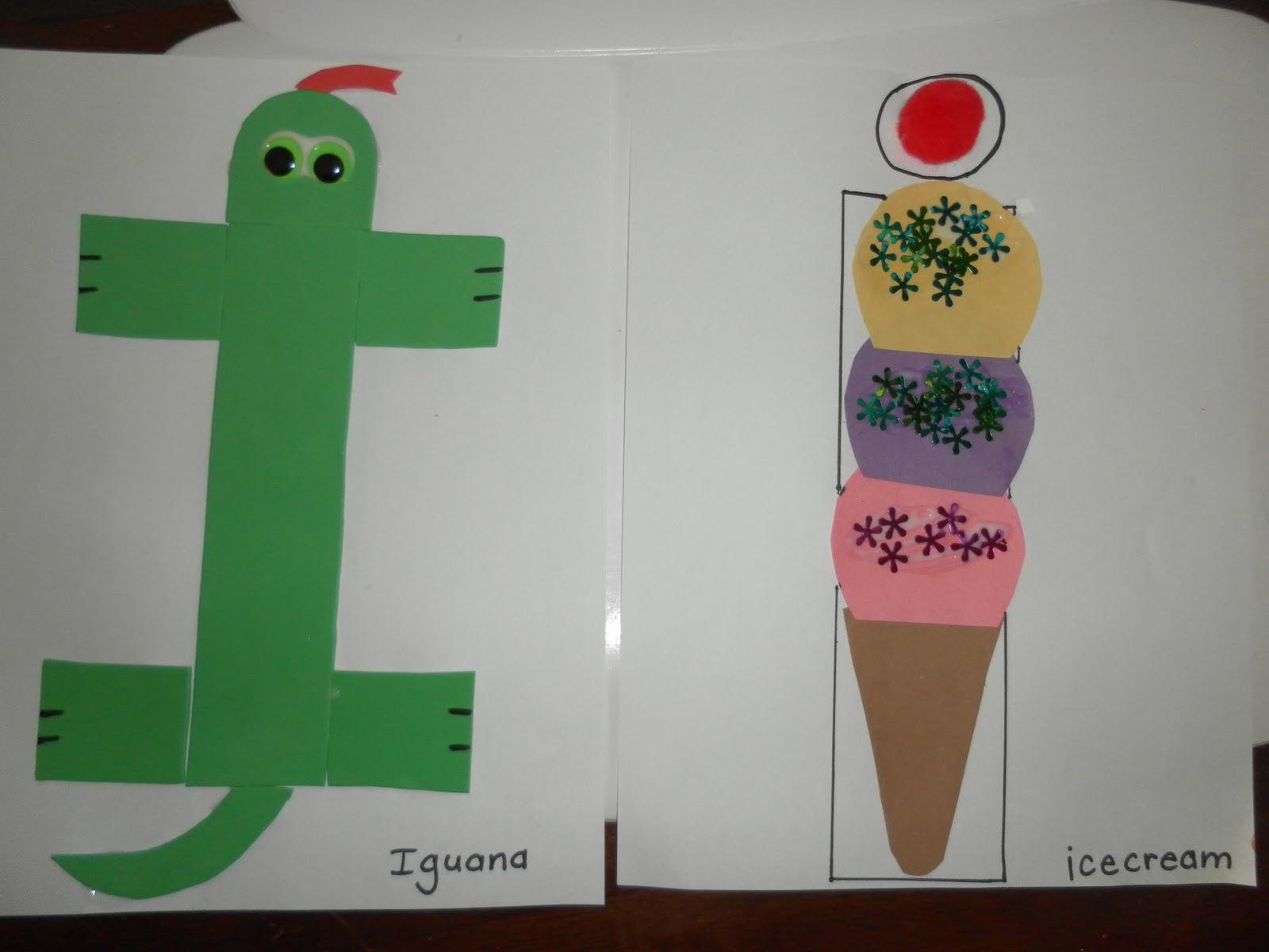 Letter I Or I Crafts