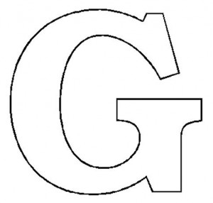 letter g coloring pages printable coloring page cartoon. Black Bedroom Furniture Sets. Home Design Ideas
