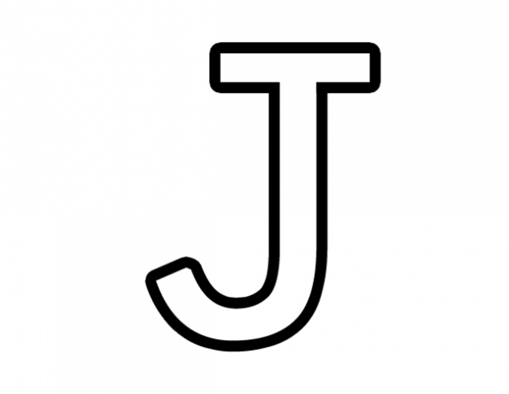 Free Letter J Coloring Pages For Preschool Preschool Crafts