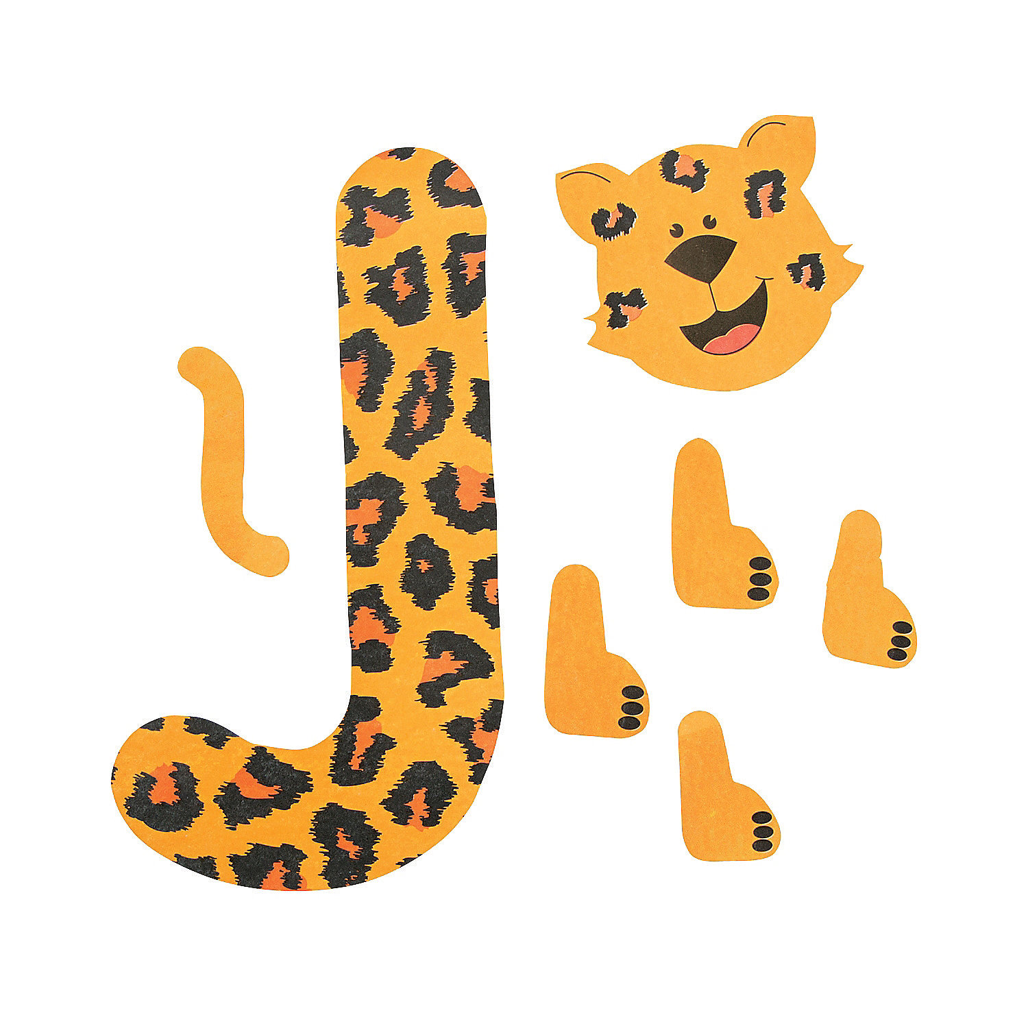 Jaguar Template For Letter J Craft