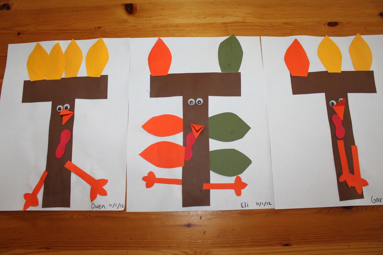 Letter T Crafts