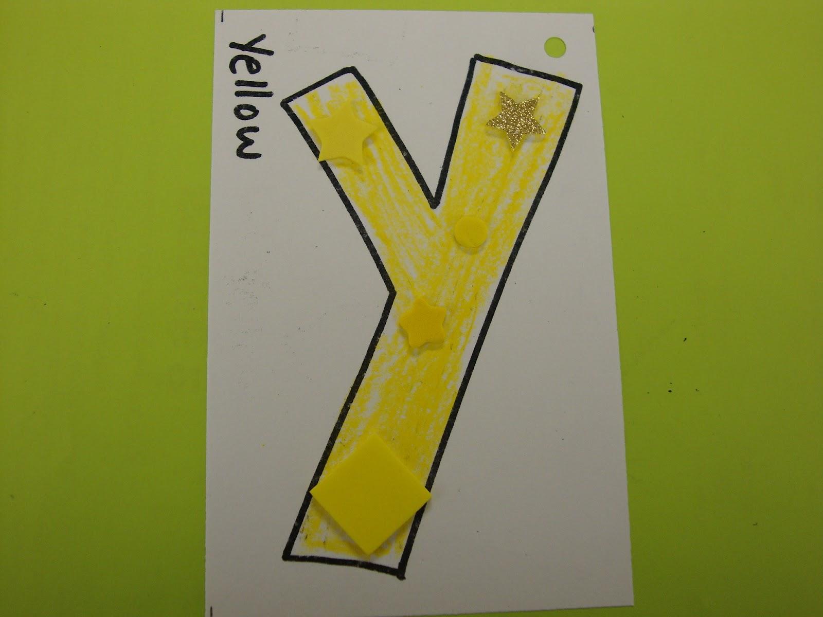 Letter Y Crafts