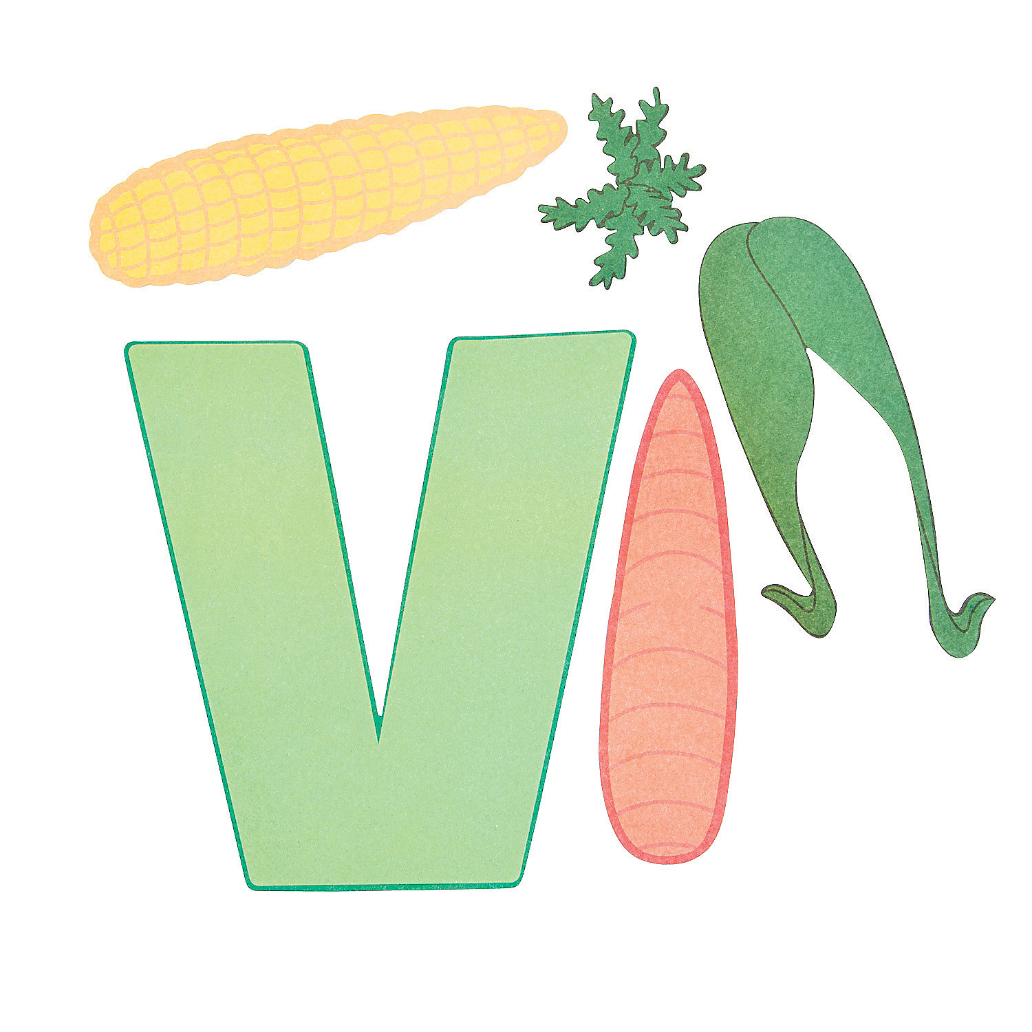 Letter V Crafts For Preschool