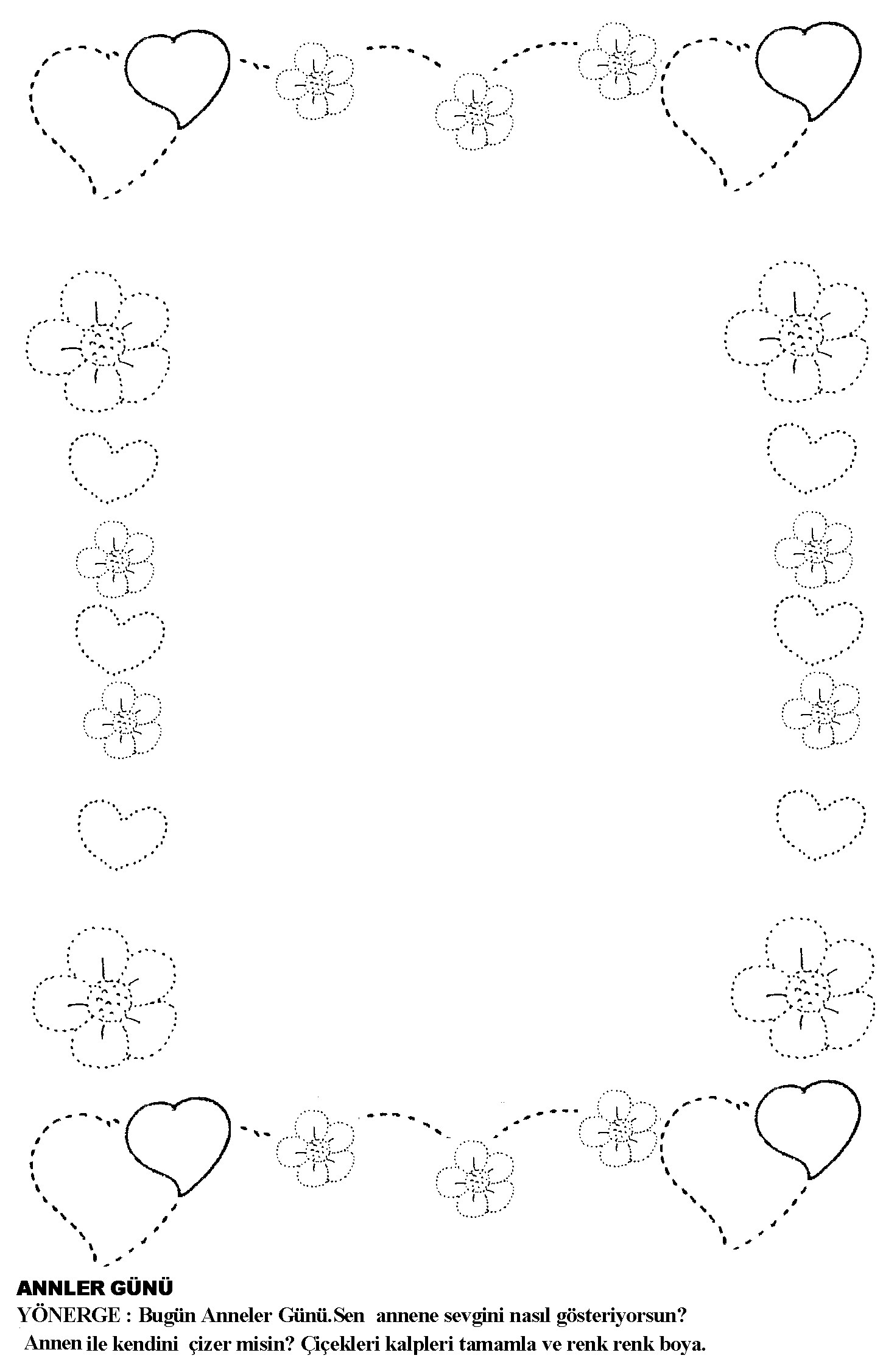 Mother S Day Coloring Pages For Kids