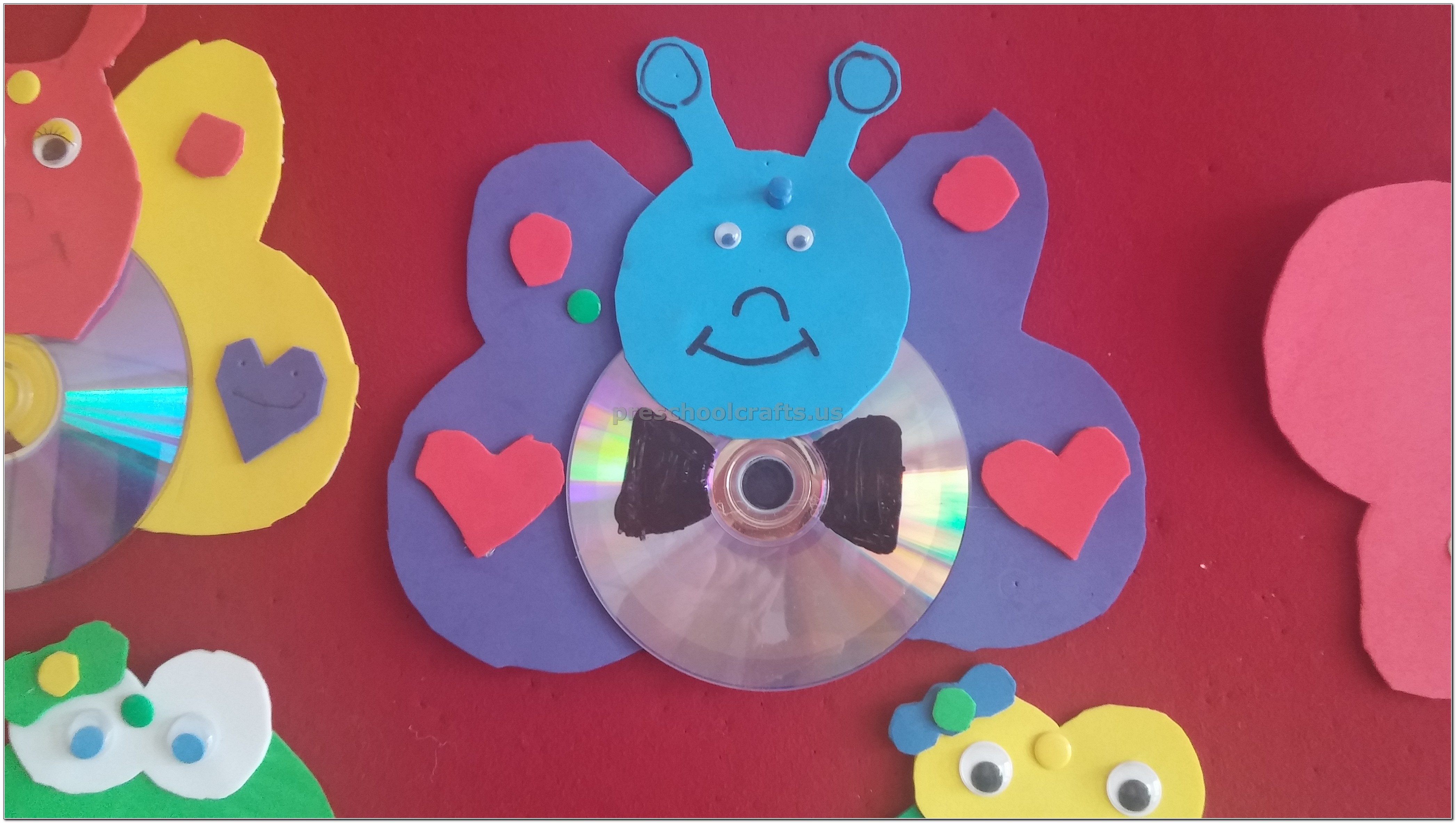 Cd Crafts Ideas For Preschoolers
