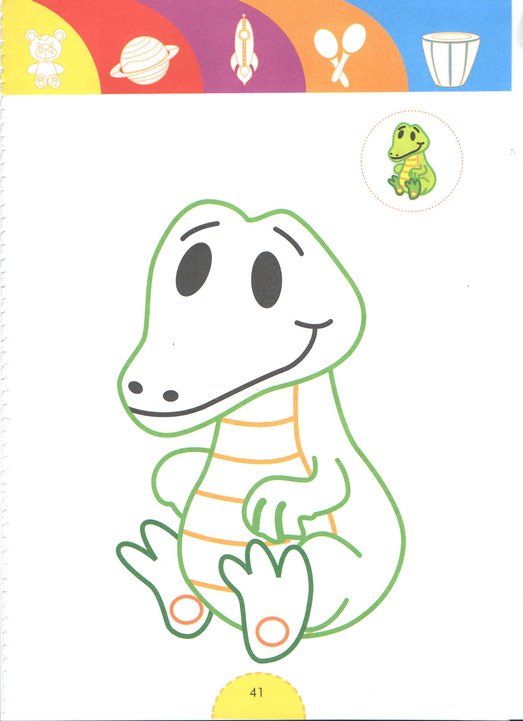 Crocs Tale Heroes Coloring Pages For Kids