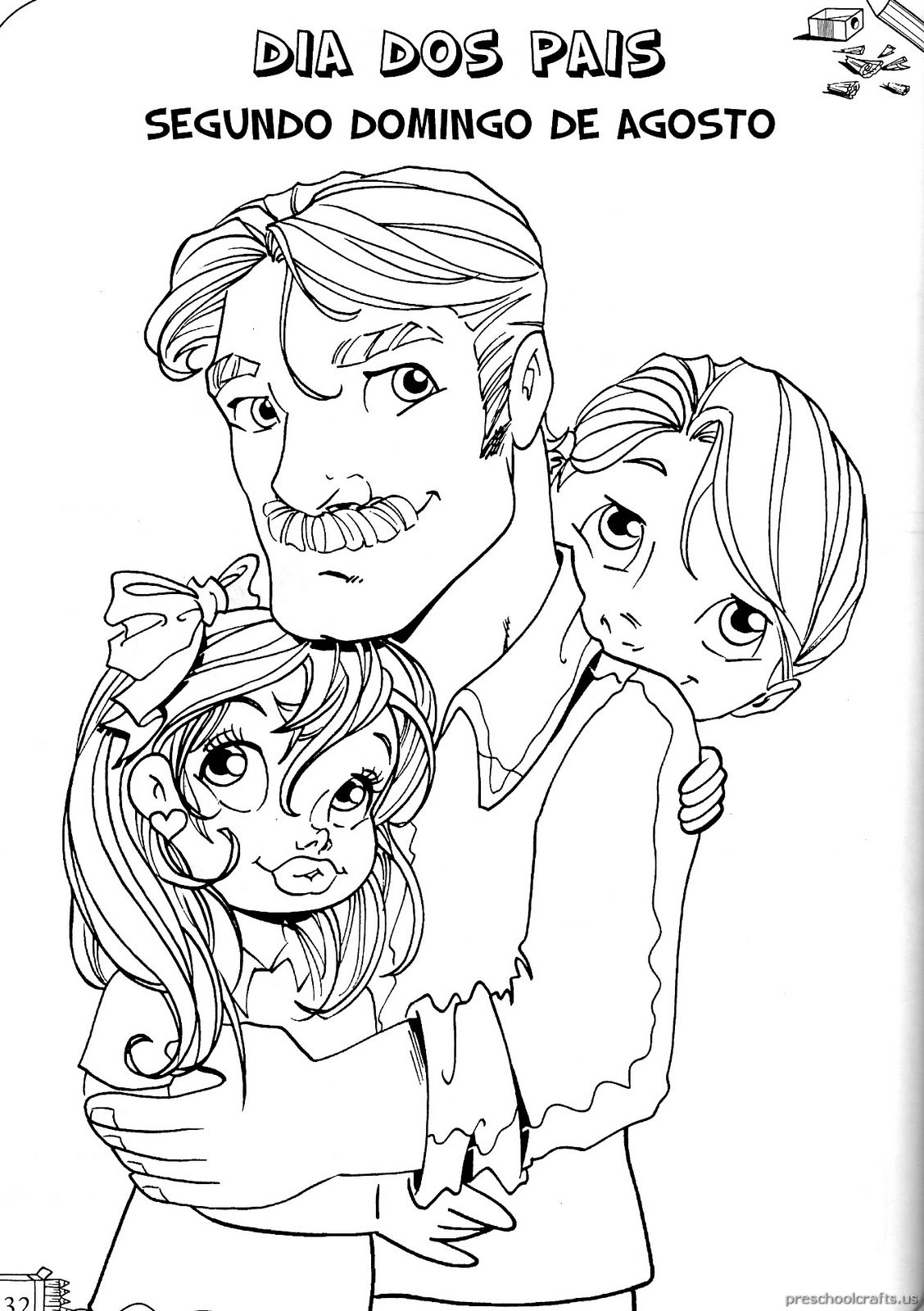 Printable Father S Day Coloring Pages For Kids