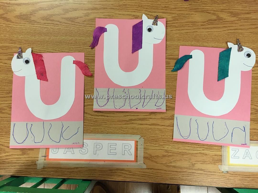Letter U Crafts For Kids