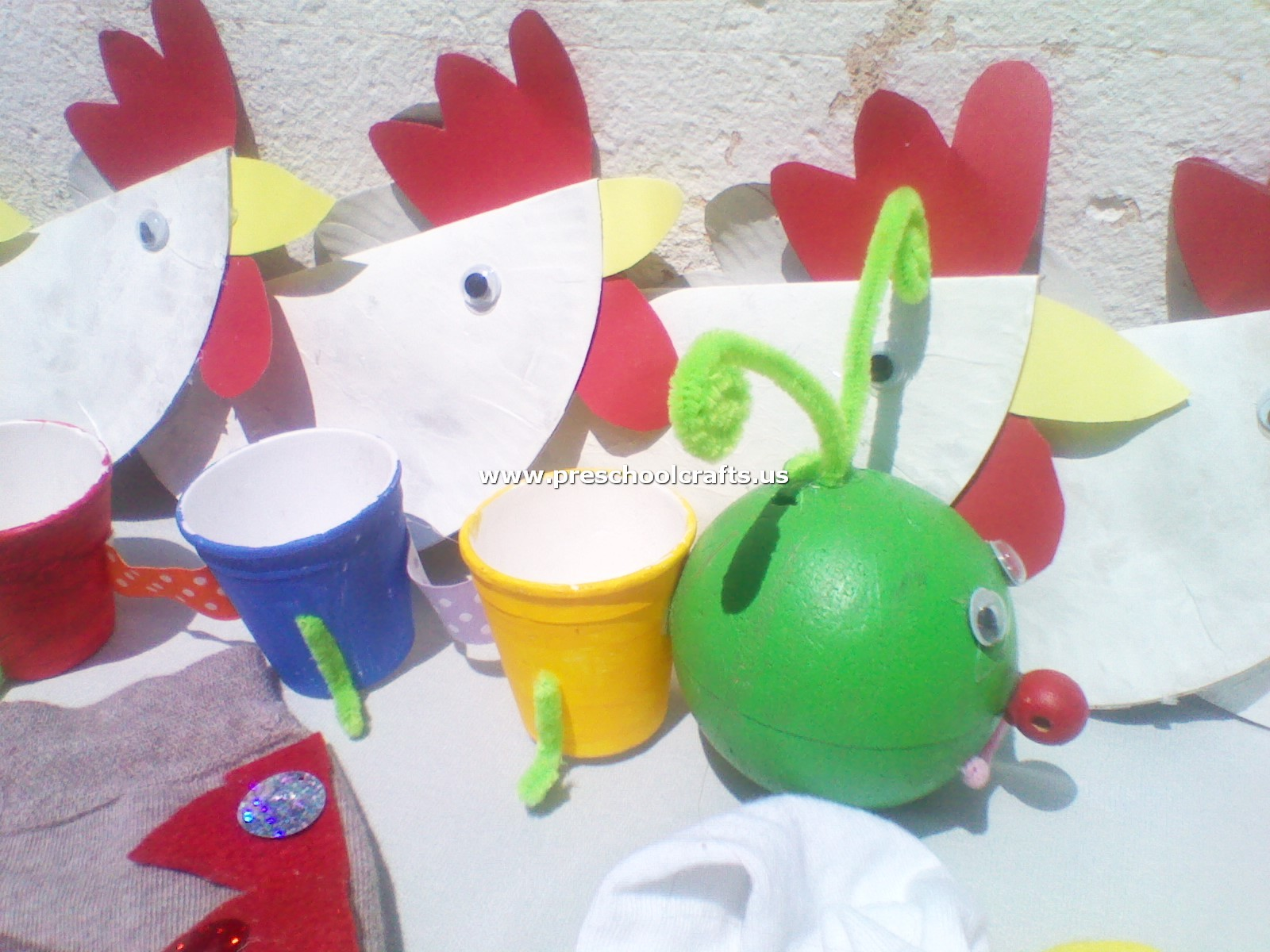 Chicken Craft And Pencil Case Craft From Paper Cup