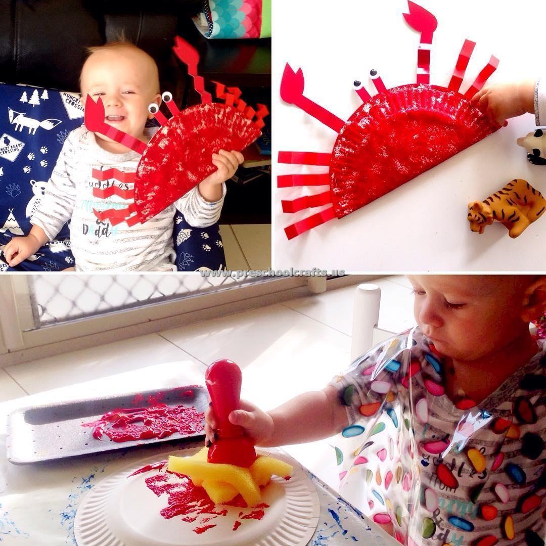 Crab Craft Idea