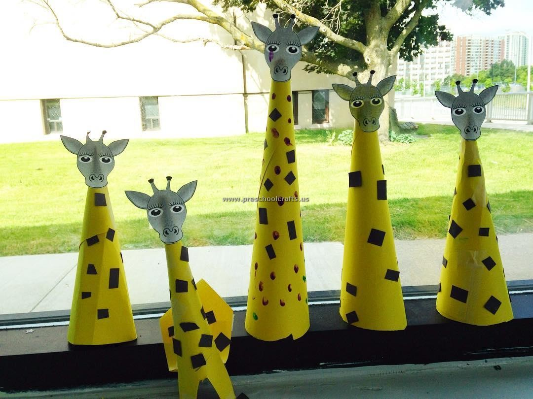Giraffe Crafts Ideas