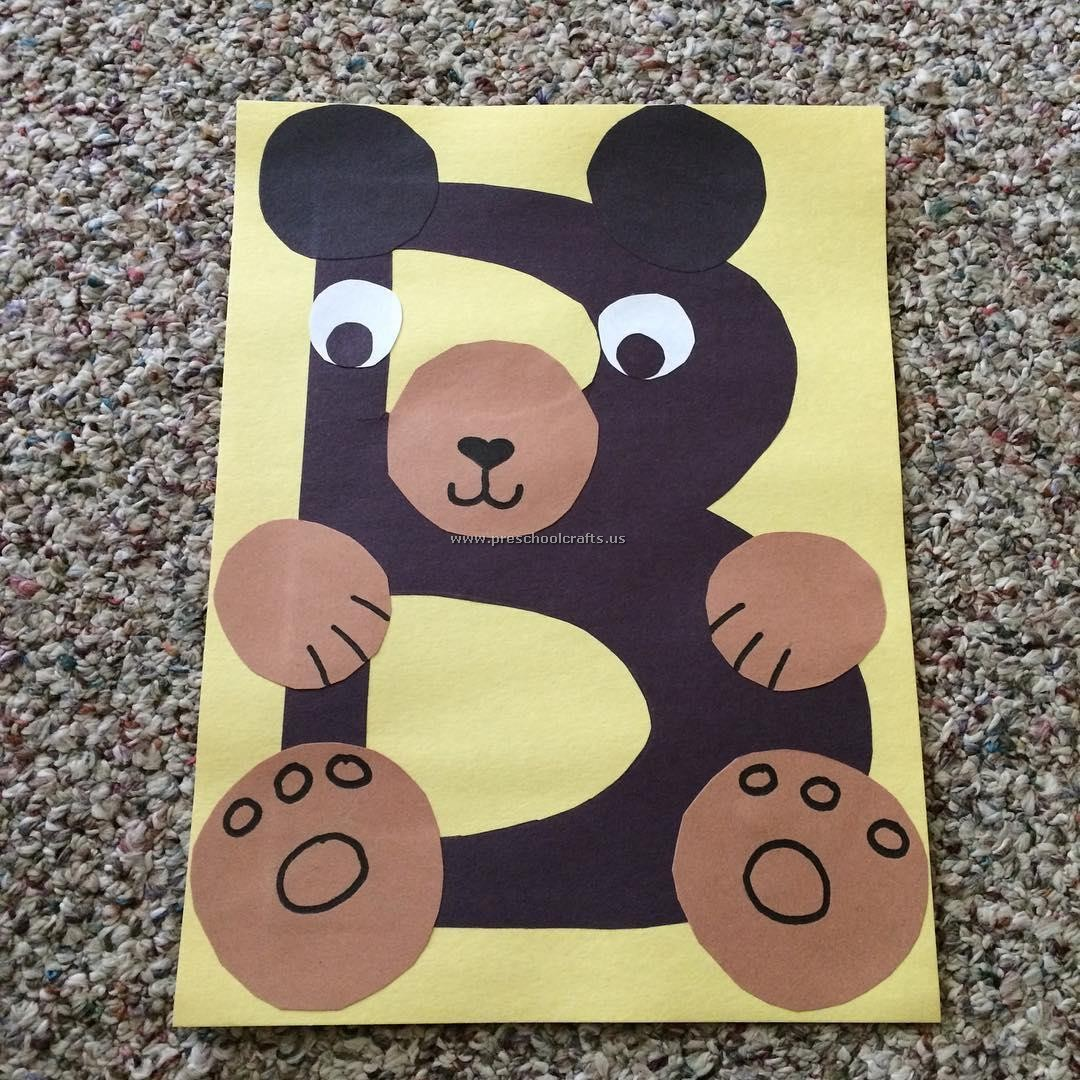Letter B Crafts Ideas Bear Crafts Ideas