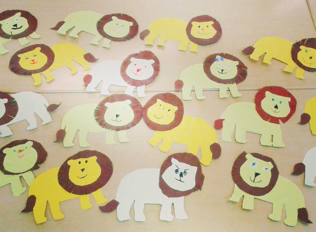 Lion Crafts For Kindergarten