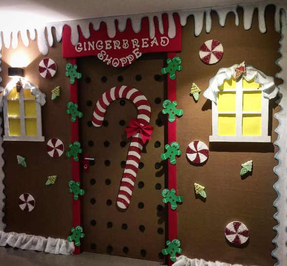 Christmas Decoration For Preschool Classroom ~ Preschool christmas door decorations