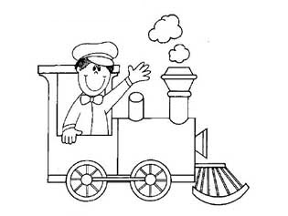 train coloring pages for preschool and kindergarten free ... | transportation coloring pages for preschool