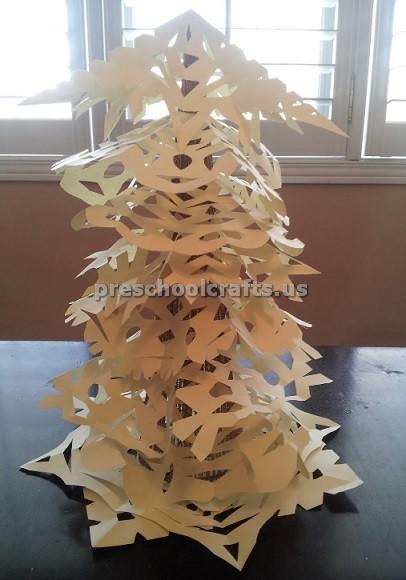Winter Tree Craft Ideas For Kids Preschool And Kindergarten