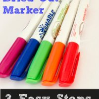 How to Save a Dried Out Marker