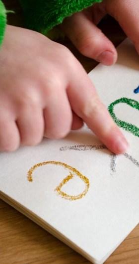 Tactile Name Writing Practice