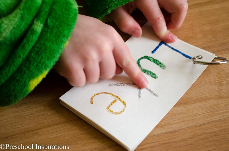Tactile Name Writing Activity for daily name practice