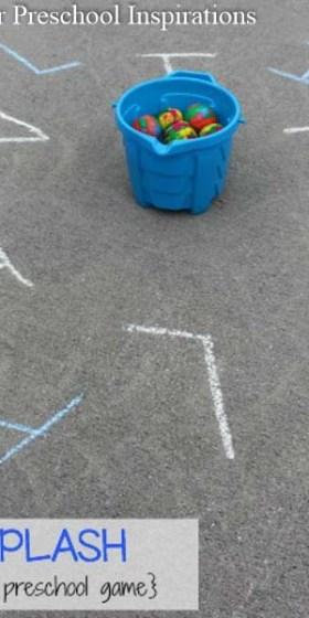 Name Splash Preschool Letter Recognition Game