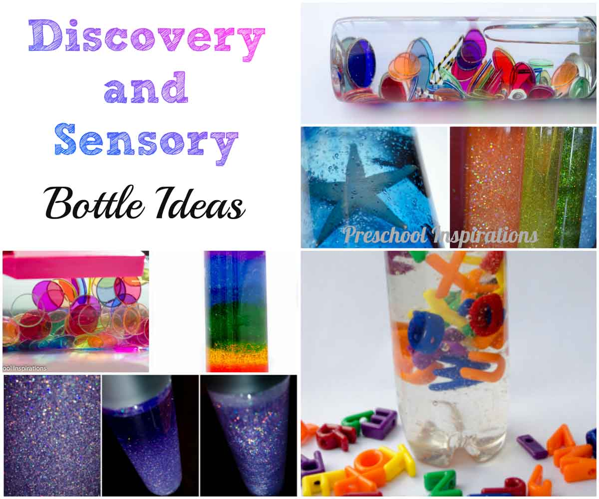 Discovery and Sensory Bottle Ideas