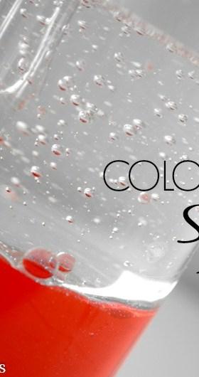 Color Mixing Sensory Bottle