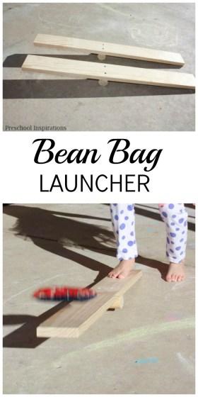 DIY Bean Bag Launcher