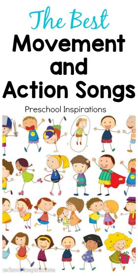 The Best Movement and Action Songs for Children