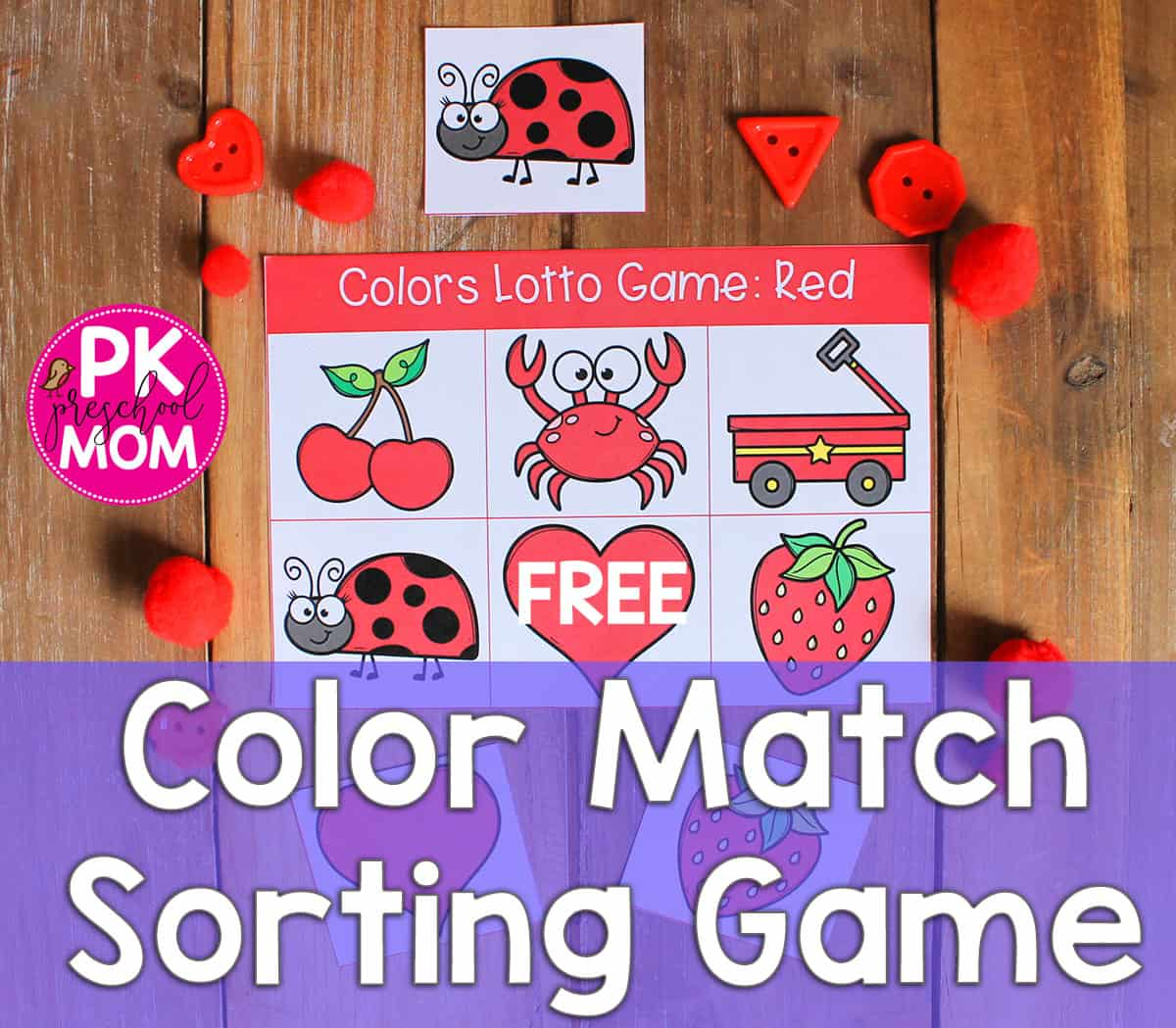 Color Preschool Printables