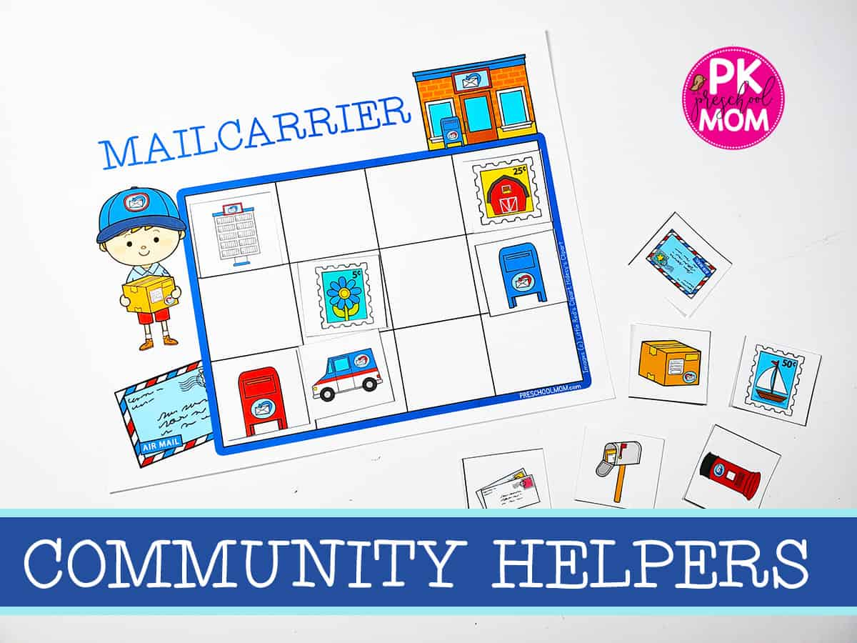 Community Helper Preschool Printables
