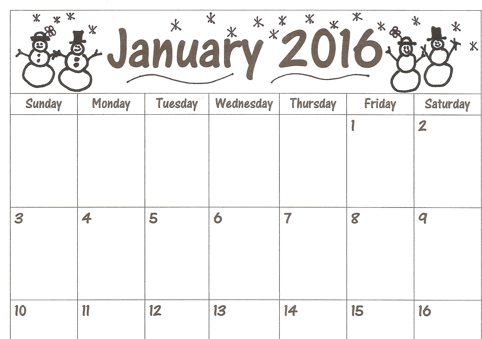 Calendar Downloads