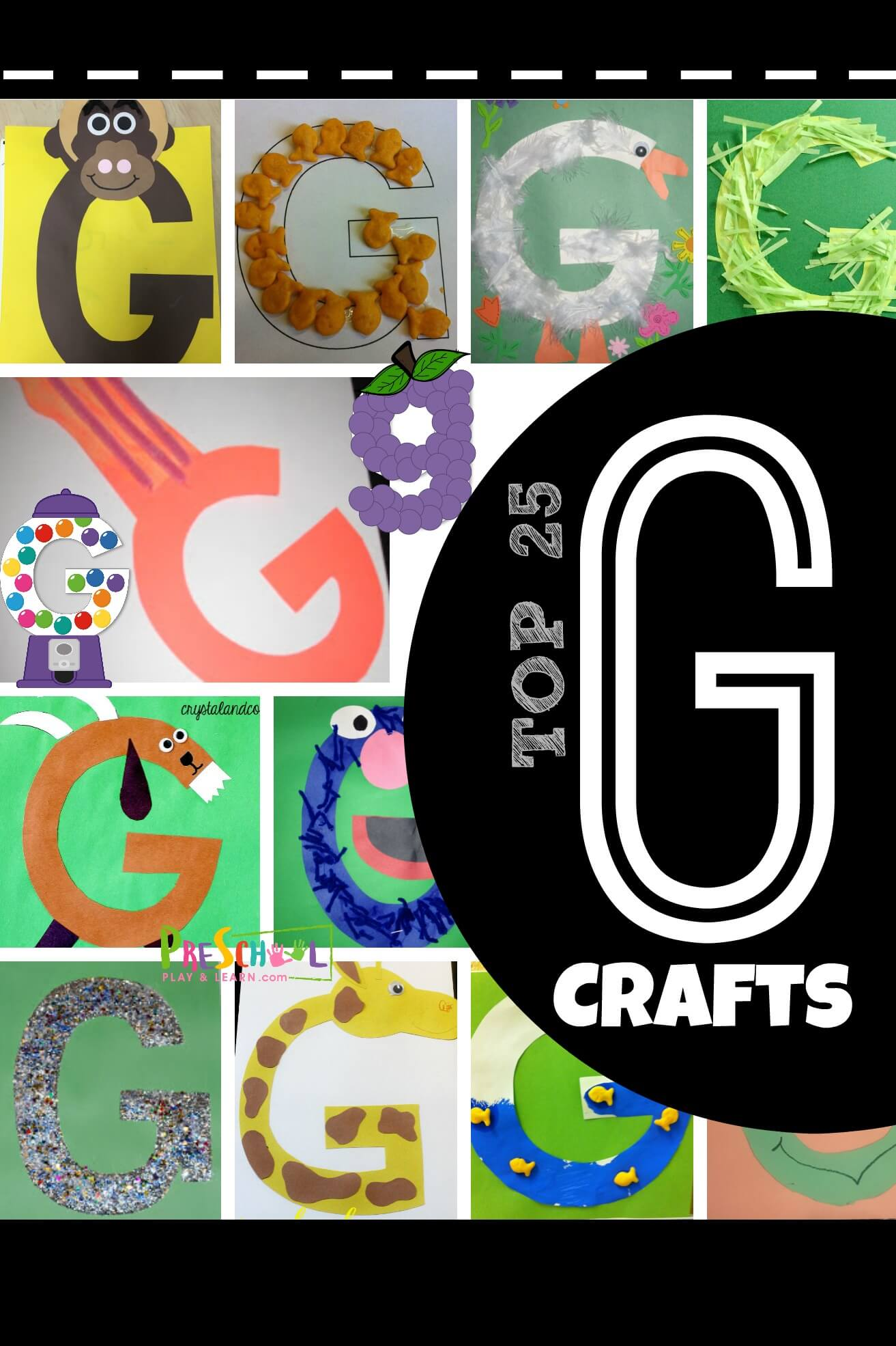 Top 25 Letter G Crafts