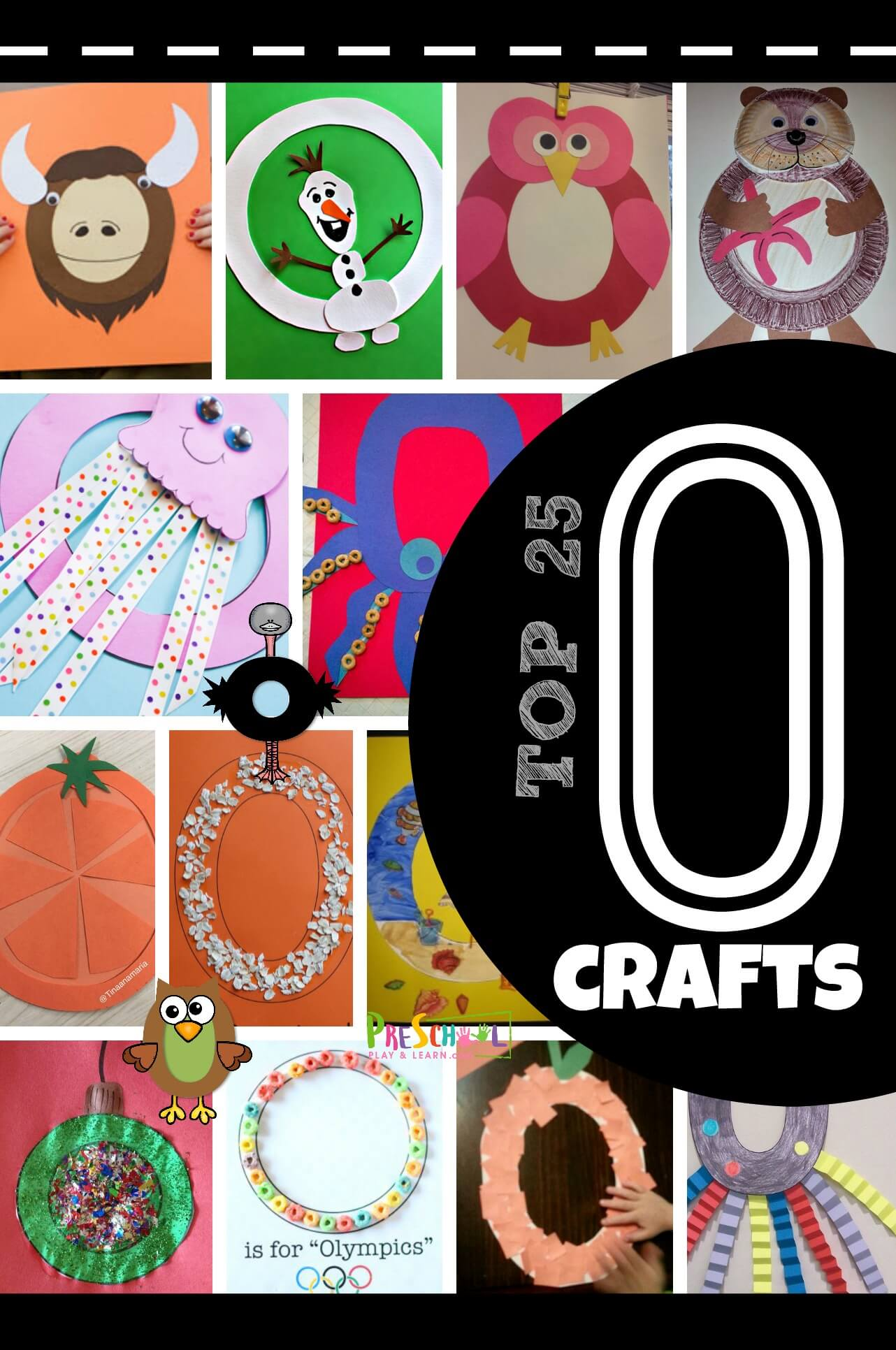 Top 25 Letter O Crafts