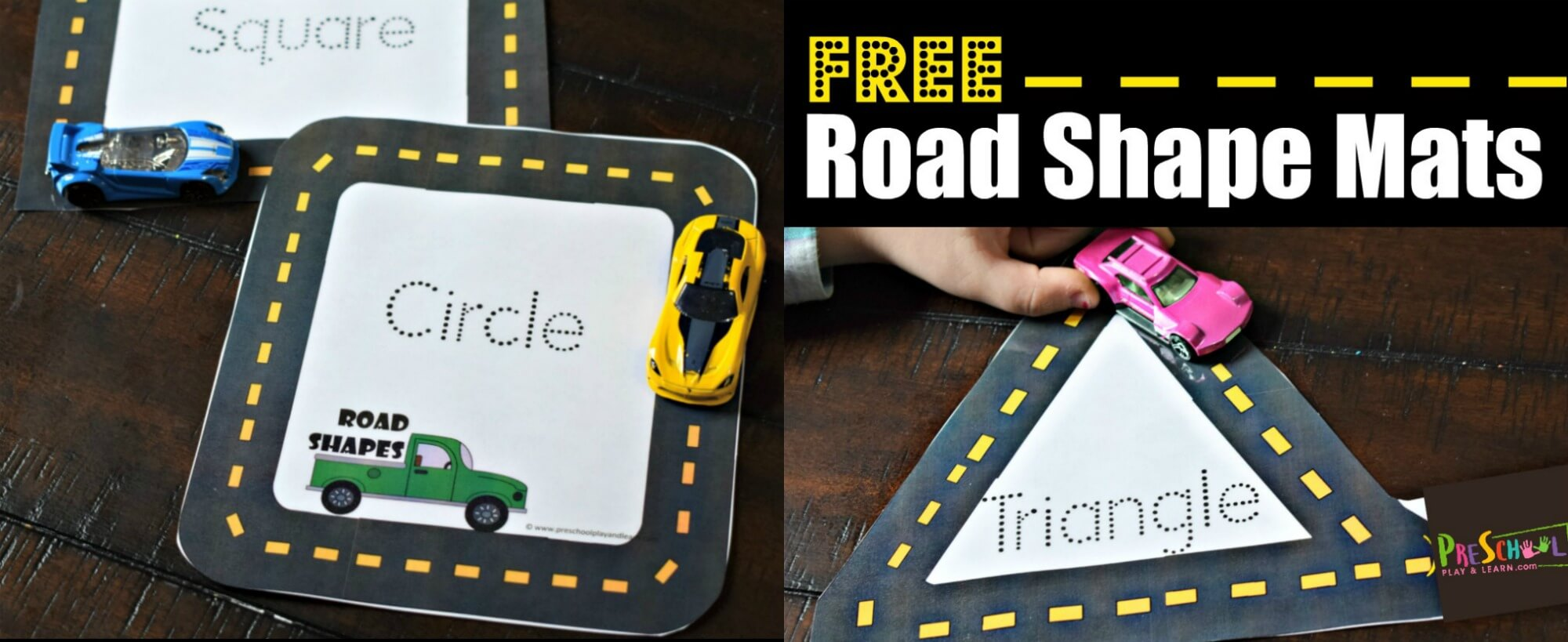 Free Road Shape Mats