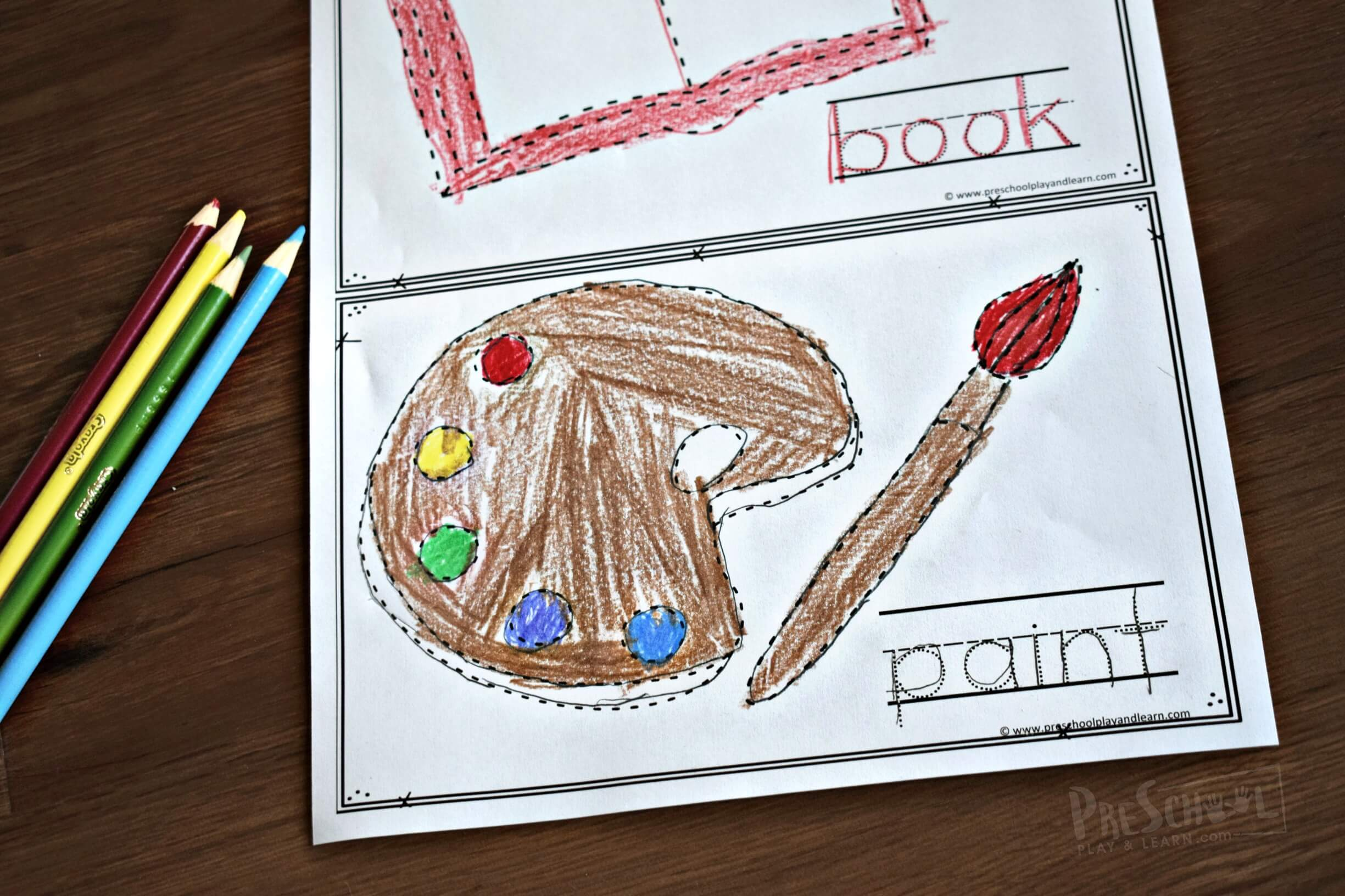 Back To School Tracing Worksheets
