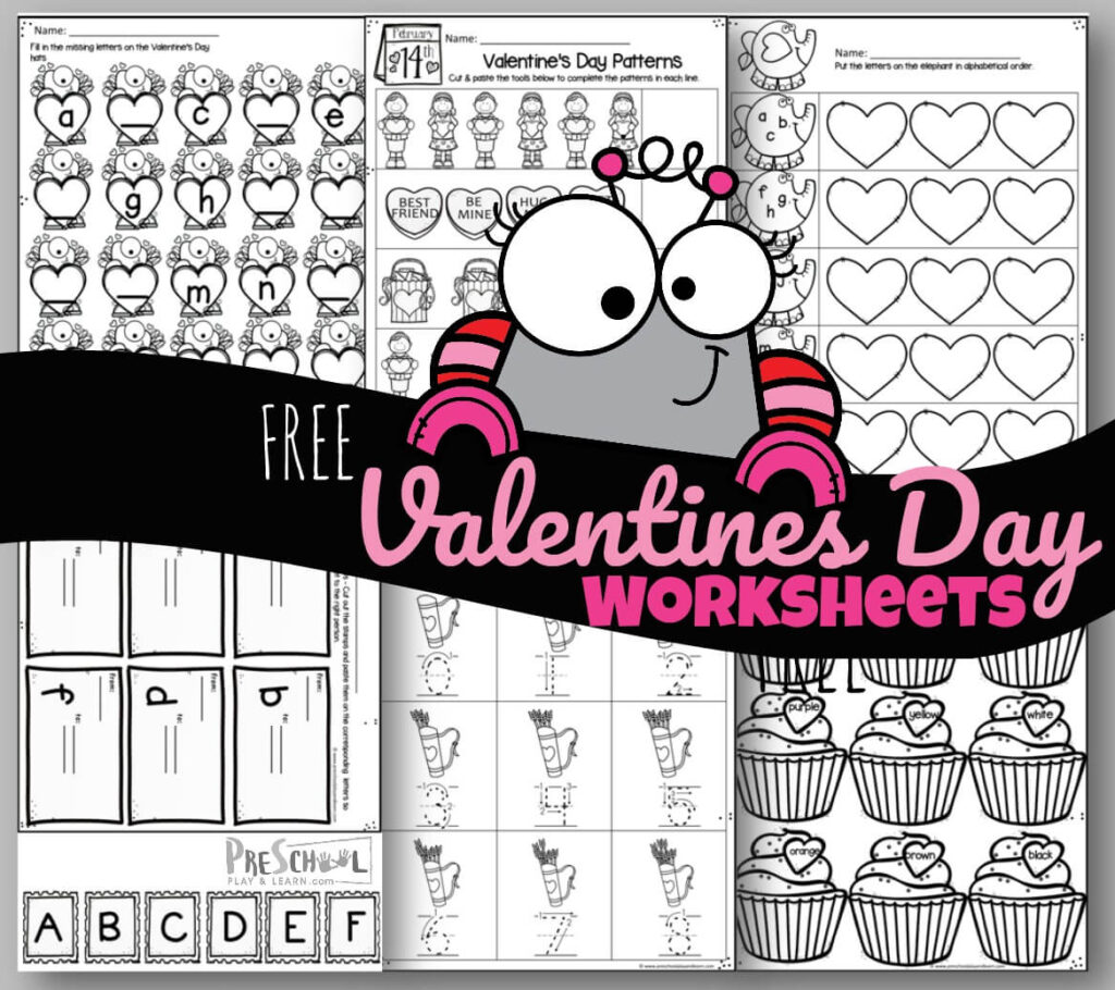 Tons Of Free Valentines Day Worksheets