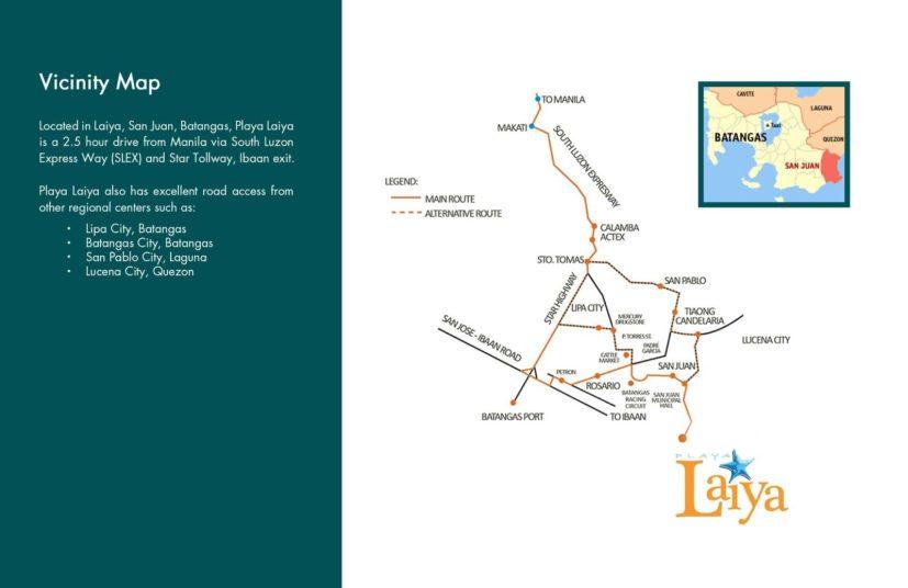 Playa Laiya Batangas Beach Lots for Sale Location and Vicinity