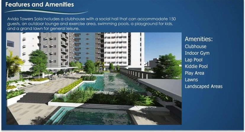 Avida Towers Sola Amenities Quezon City Condo