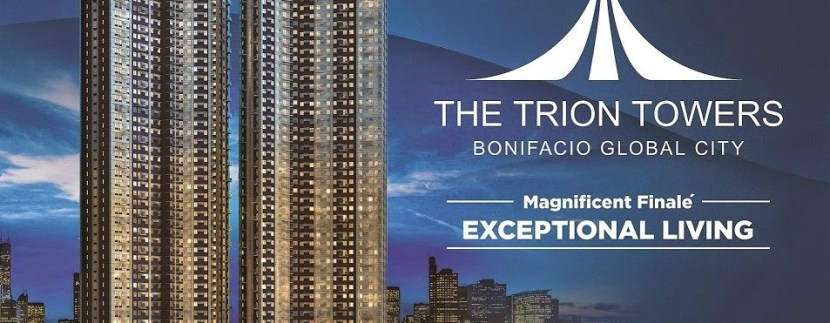 The Trion Towers by Robinson's Land at BGC