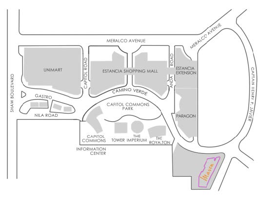 Maven at Capitol Commons Location and Vicinity